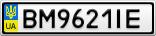 Номерной знак - BM9621IE