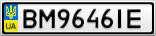 Номерной знак - BM9646IE