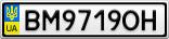 Номерной знак - BM9719OH