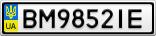 Номерной знак - BM9852IE