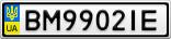 Номерной знак - BM9902IE