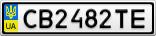 Номерной знак - CB2482TE