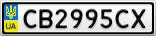 Номерной знак - CB2995CX