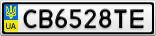 Номерной знак - CB6528TE