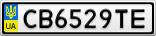 Номерной знак - CB6529TE