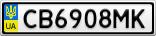 Номерной знак - CB6908MK